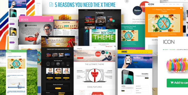 Best WordPress Themes - X Theme