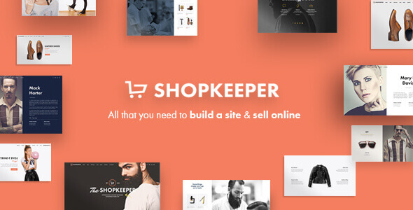 Best WordPress Themes - Shopkeeper Theme